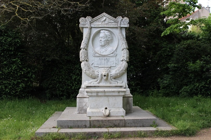 marbre jean baptiste Camille Corot