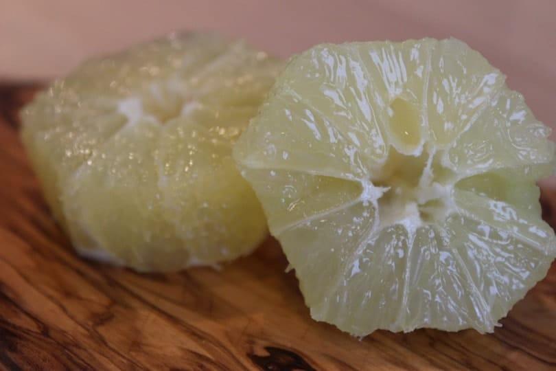 suprêmes de citron jaune