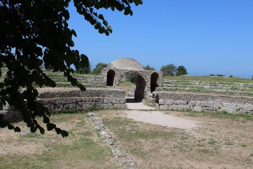 amphithéâtre Paestum
