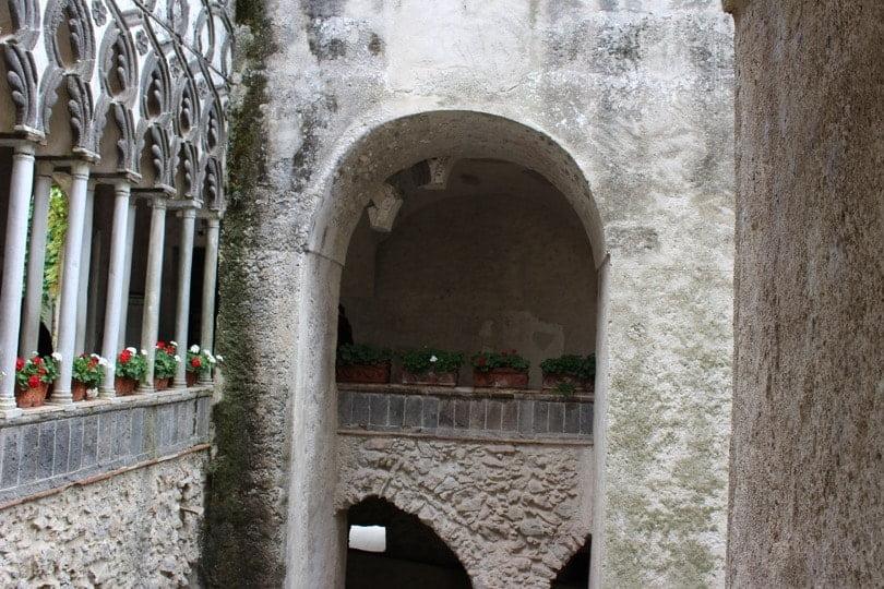 entrée villa Rufolo