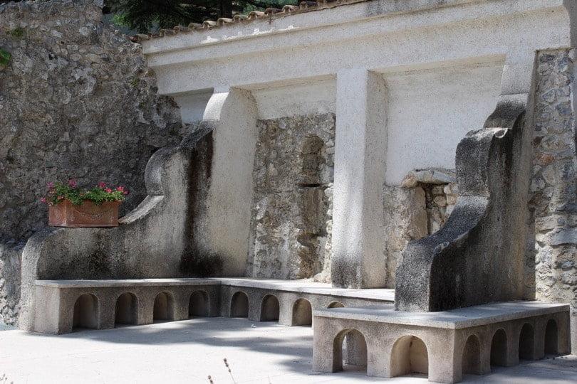 intérieur villa rufolo