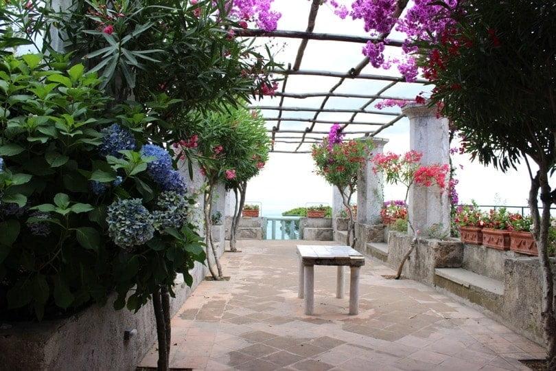 terrasse villa Rufolo