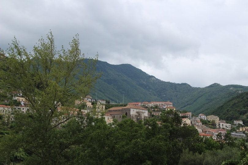 vue depuis Ravello montagne