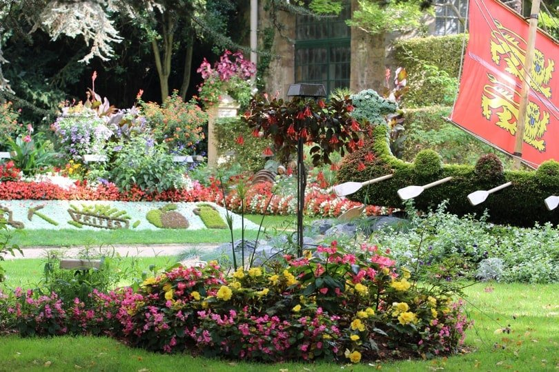 Visitez avec moi le jardin des plantes de coutances for Jardin des plantes orchidees 2016