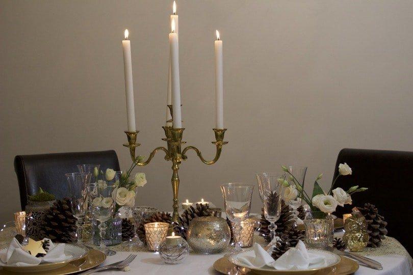 Une jolie table pour la nouvelle année