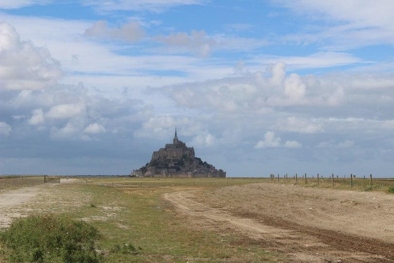 Départ du Mont Saint-Michel