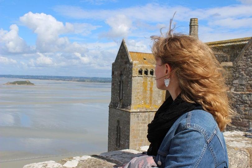 Regard sur la baie du Mont Saint-Michel