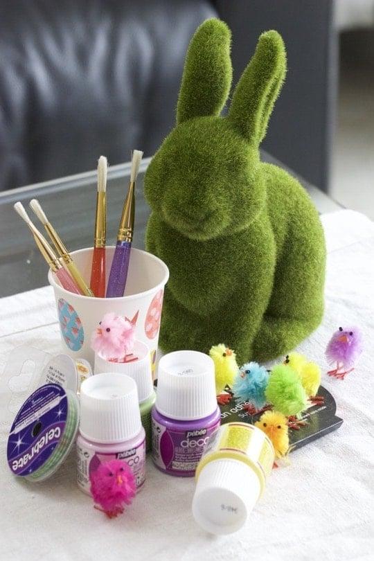 Fournitures pour décorations de Pâques