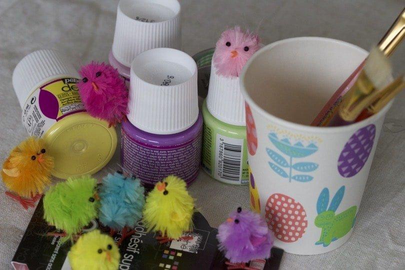 DIY décorations de Pâques, fournitures pour une décoration originale.