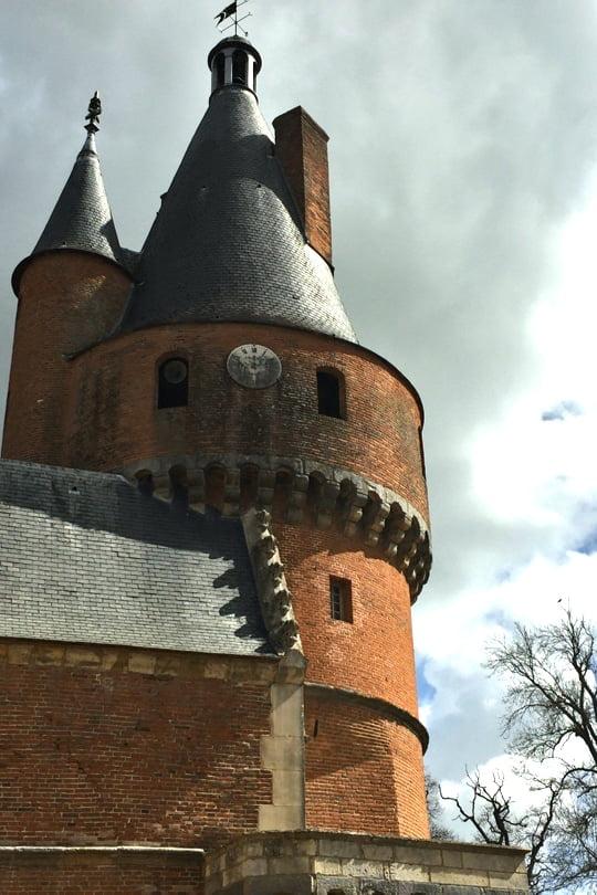 Tour ronde du château de Maintenon