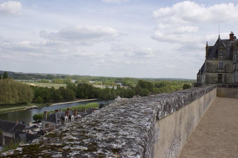 Vallée du Cher depuis le château de Saint-Aignan
