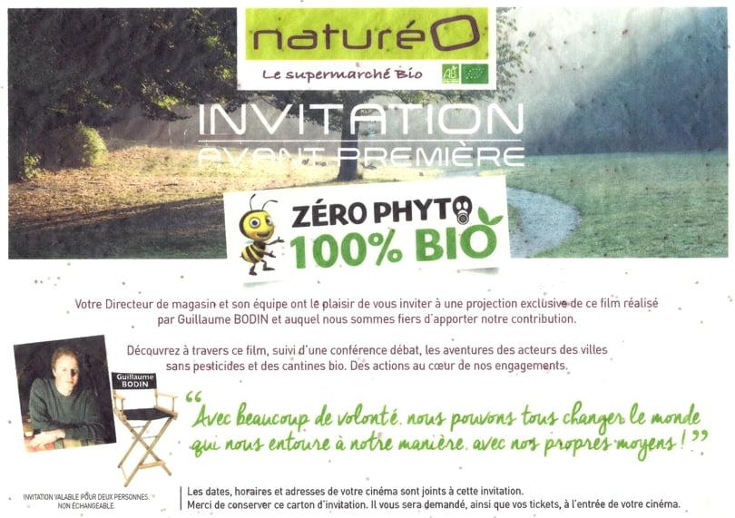 Invitation NaturéO ensemencée