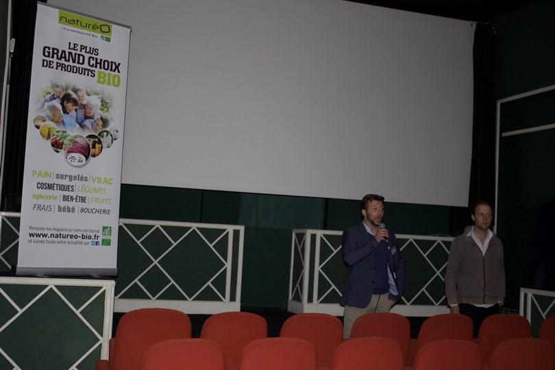 """Présentation du film """"Zéro Phyto, 100% BIO"""" en présence de Guillaume Bodin et Xavier Travers de NaturéO"""