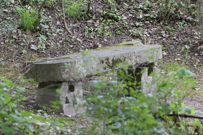 S'assoir et regarder, profiter de l'instant présent dans le parc de la demeure d'Alexandre Dumas.
