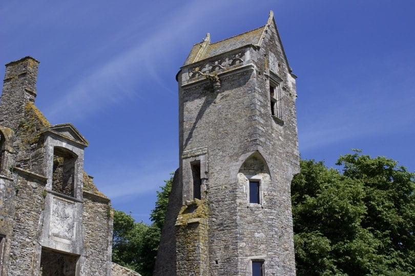 Tour de la fée du château de Gratot