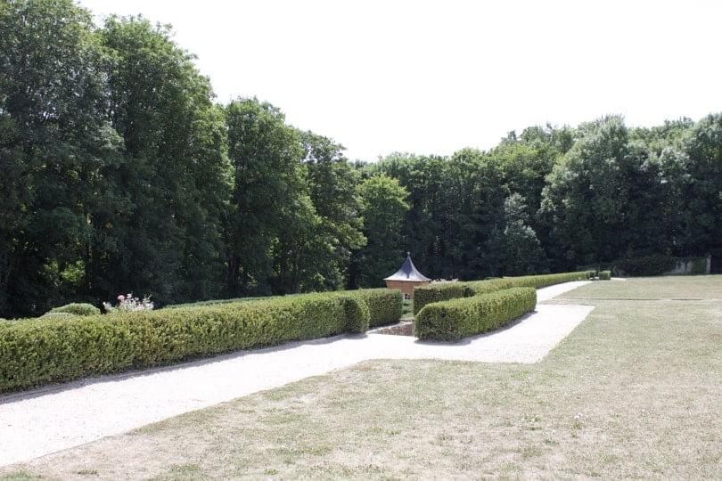 Labyrinthe du château de Breteuil dans les Yvelines
