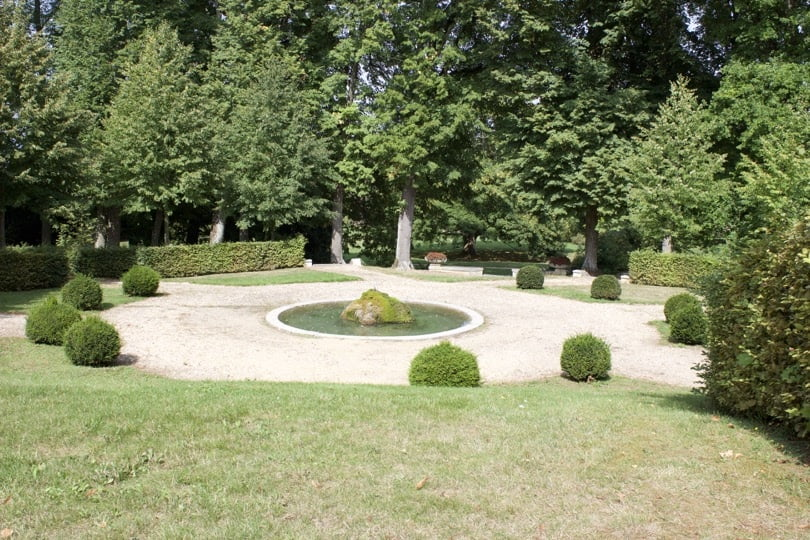 Fontaine du château de Bizy à Vernon en Normandie