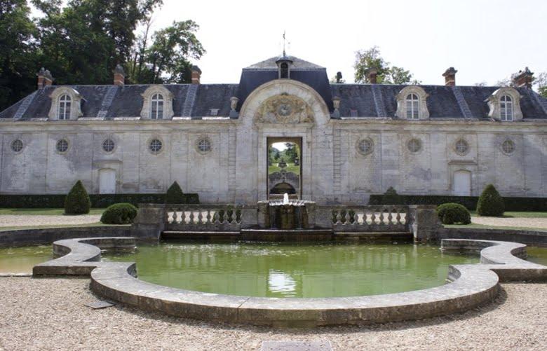 pédiluve du château de Bizy à Vernon en Normandie