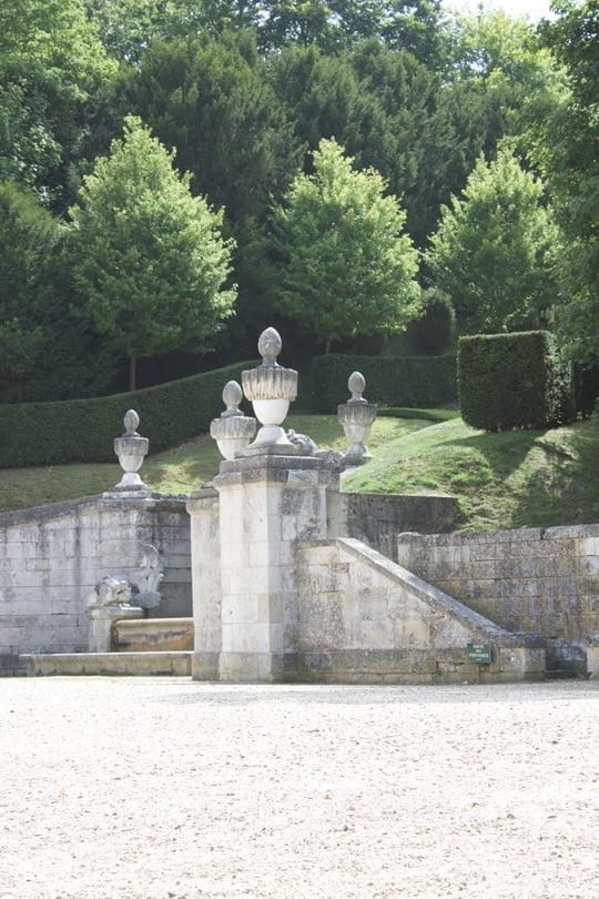 Entrée du château de Bizy à Vernon en Normandie
