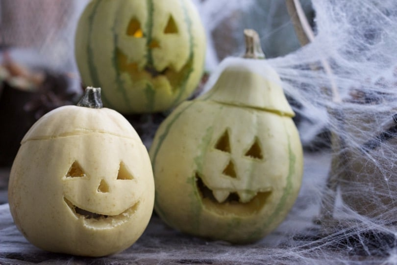 Des mini lanternes pour Halloween