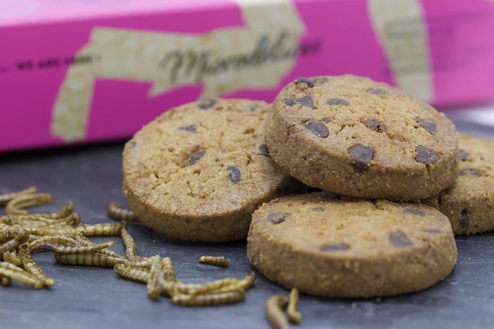 Cookies Microdélices de chez micronutris - manger des insectes