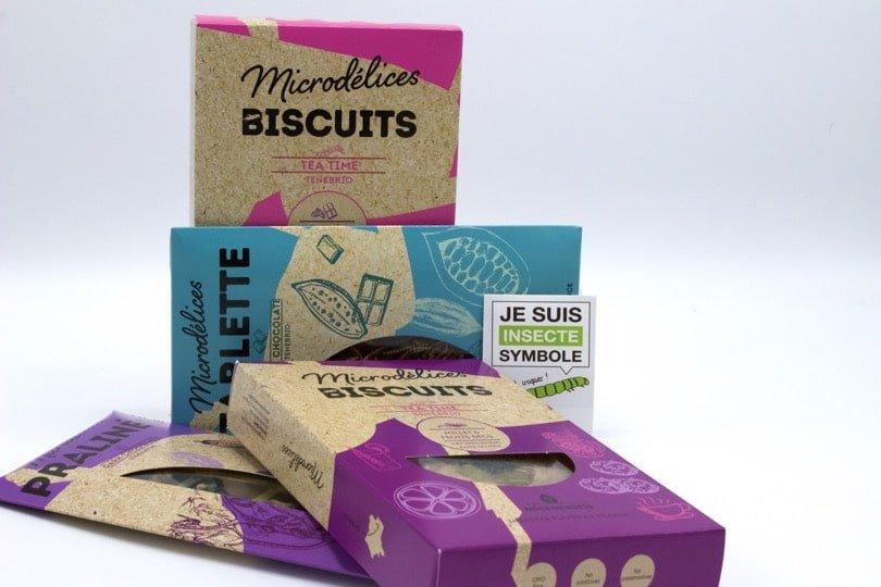 Produits micronutris - manger des insectes