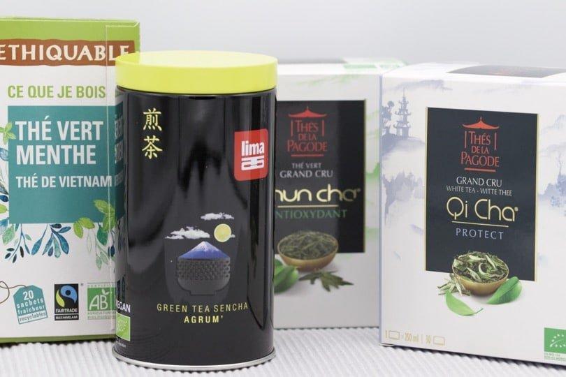 Ma sélection de thé bio