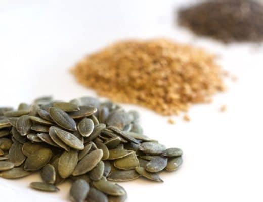 Les superaliments : graines de courge, de chia et de sésame