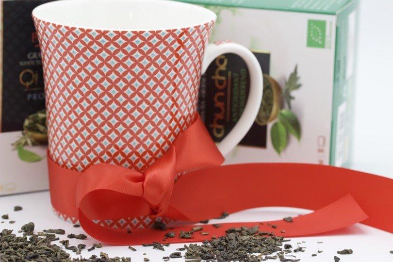 Offrir du thé à la Saint-Valentin