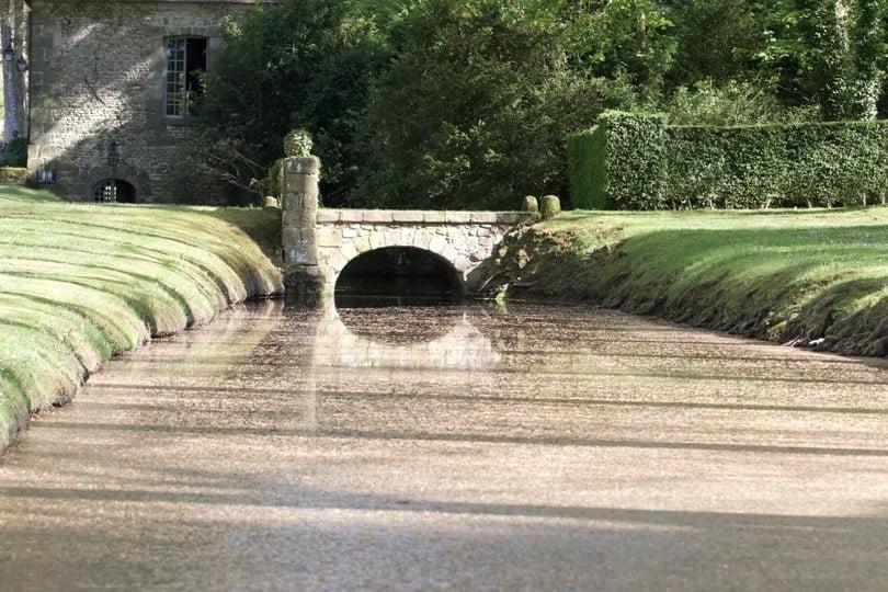 Canal de la Foulerie du château de Courances