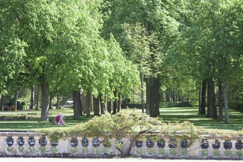 Flâner dans le jardin du château de Courances