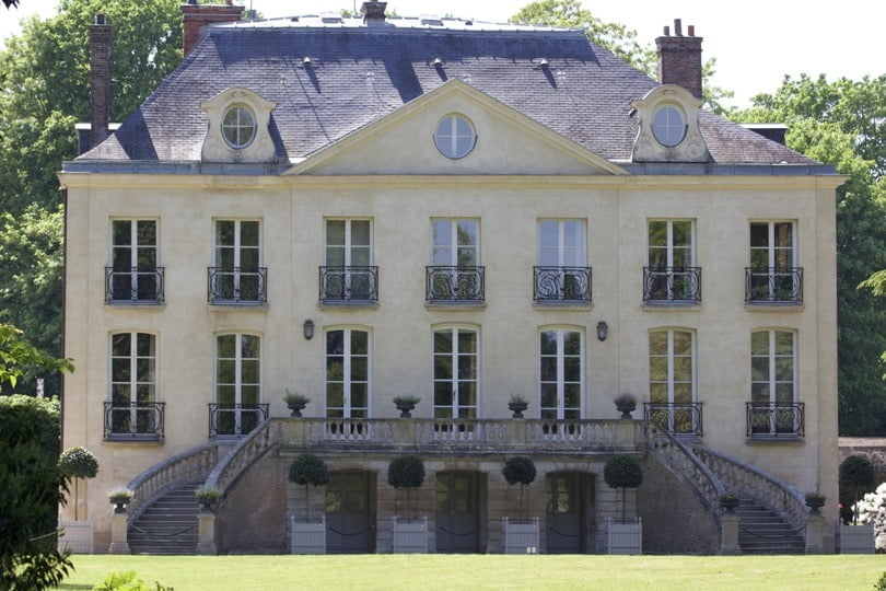 Demeure du XIXe siècle de arboretum de la Vallée aux Loups.