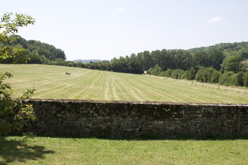 Vallée de l'Aubette, château d'Ambleville.