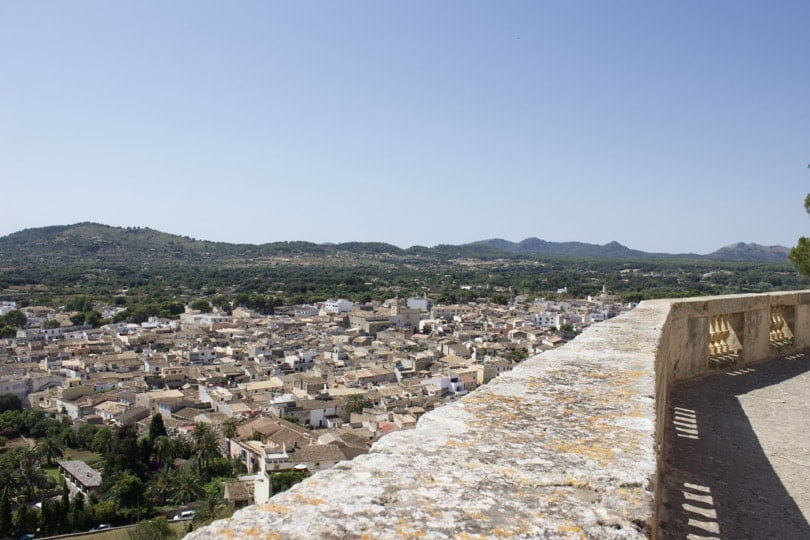 Vue sur Artá à Majorque