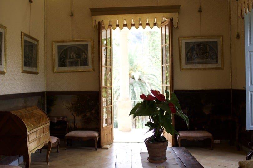 Maison des jardins d'Alfàbia à Majorque