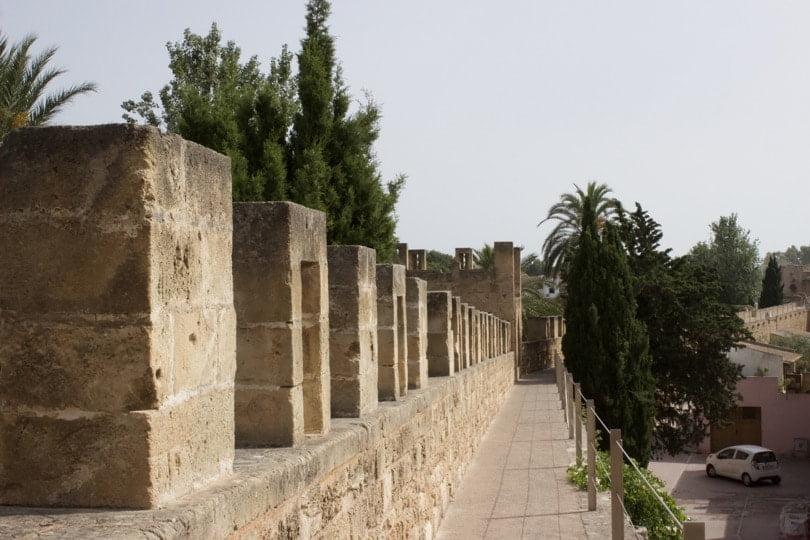 Les remparts d'Alcúdia à Majorque.