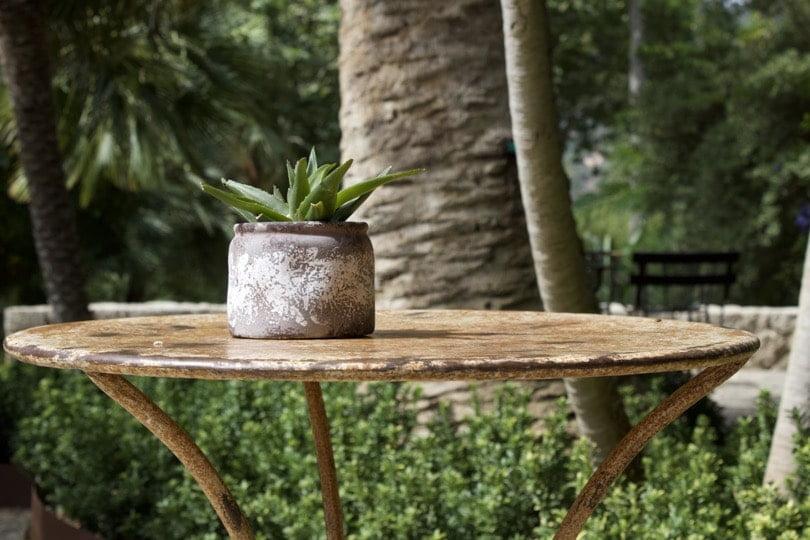 Terrasse des jardins d'Alfàbia à Majorque