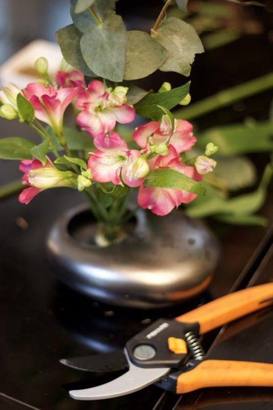 Réalisation de mon premier Ikebana