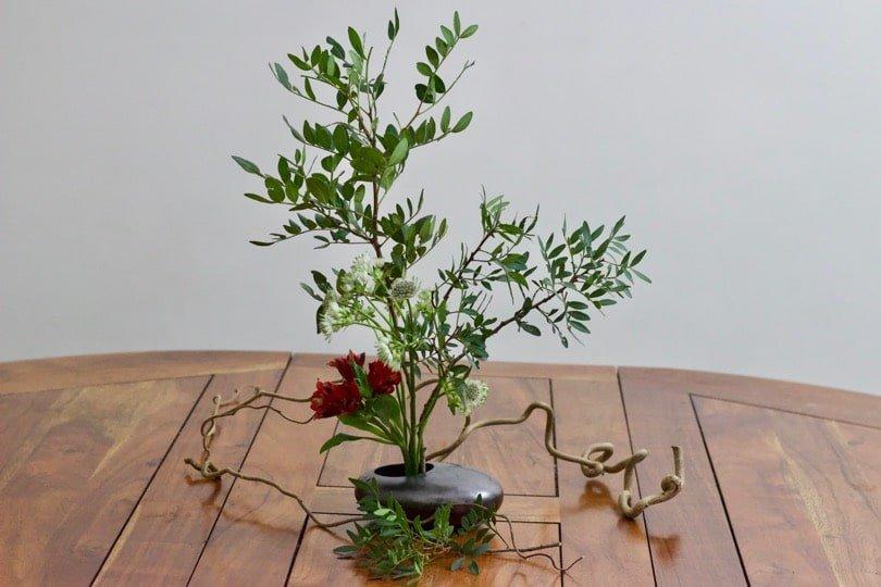 L'Ikebana, art floral japonais.