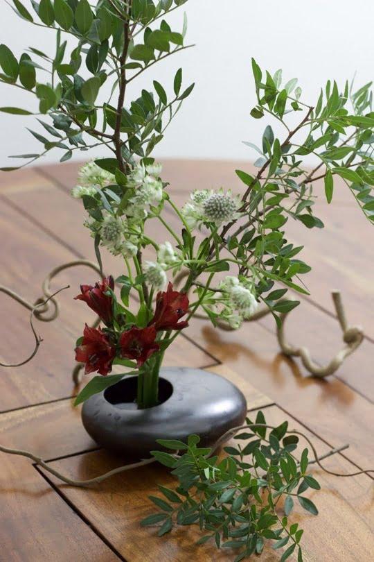 Ikebana achevé