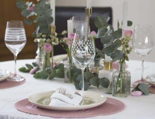 Une jolie table pour la Saint Valentin