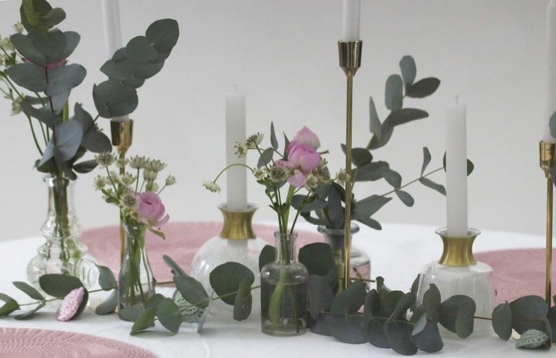 Une jolie table pour la Saint-Valentin