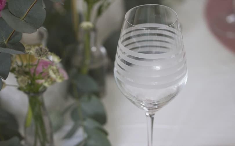 Des verres dépareillés pour la Saint-Valentin