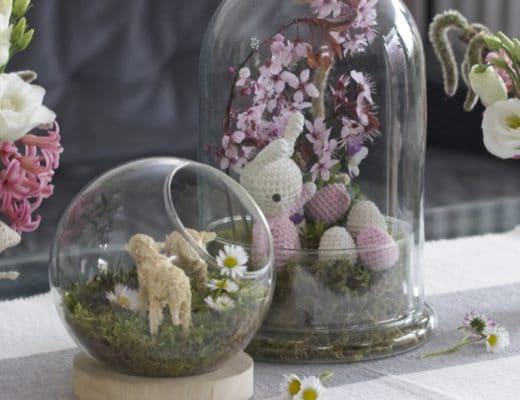Un jardin sous verre pour Pâques