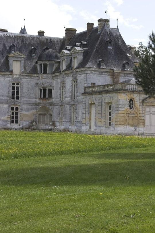 Château d'Acquigny et son amour de jardin