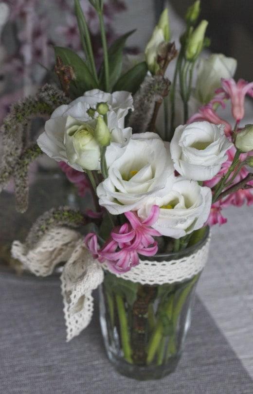 Réaliser des bouquets avec des jacinthes