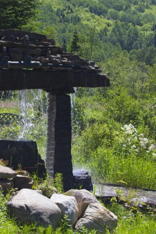 Auberge du vieux moulin à Sainte-Emélie-de l'Energie