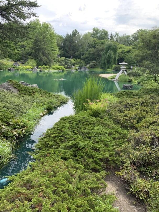 Jardin japonais au jardin botanique de Montréal