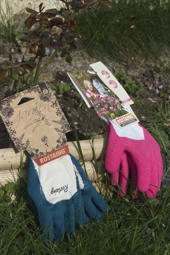 Gants Rostaing en latex pour tailler les rosiers