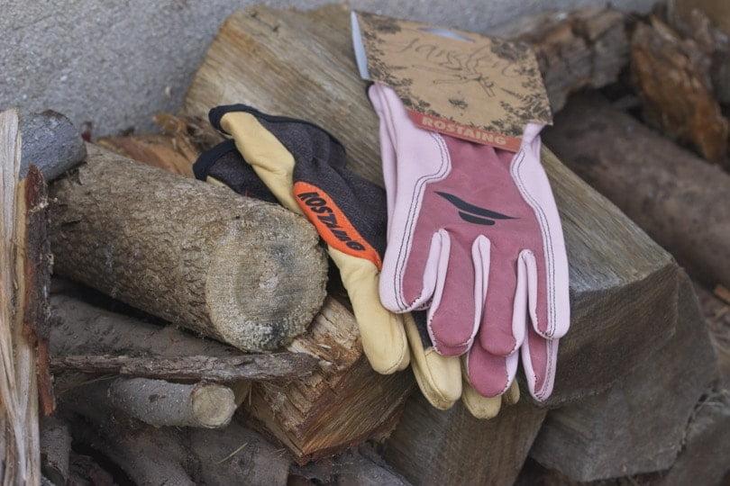 Mes gants rostaing en cuir pour la taille